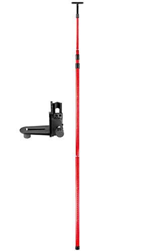 Firecore F18123 Professional Kreuzlinienlaser Universallevel Teleskopstange Teleskop-Nivellierlatte