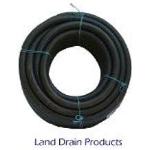 """Fabricado en Reino Unido perforado de las aguas subterráneas de drenaje/Hacia el depósito manguera aprox 25Yard X 3"""""""" (3.14""""int)"""