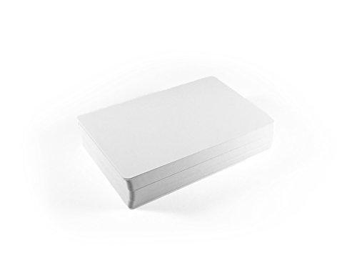 Apostrophe Games - Juego cartas blanco tamaño estándar