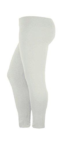 Fast Fashion - Leggings De Viscose Plus La Taille Des Animaux Léopard Crâne De Colorant Zèbre Cravate Impression - Femmes Blanc