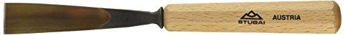 Stubai 520520 Couteau à sculpteur, Forme 5, 20 mm, Or/Beige