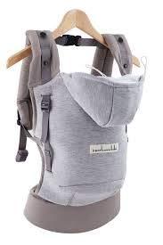 Je porte mon bebe - Je porte mon bebe - hoodiecarrier coton - gris athletique Hc13