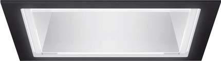 LTS Licht und Leuchten LED-Einbaudownlight FLIQ 300.1040.01 sw 12W 4000K ET145 Flixx Downlight/Strahler/Flutlicht 4043544390189