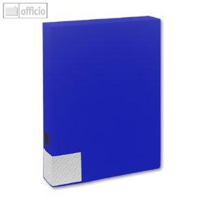 Preisvergleich Produktbild Sammelboxen / Dokumentenboxen A4 blau