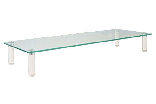 Kantek Glas Monitor Riser, 8,3x 21x 55,9cm klar (ms370)