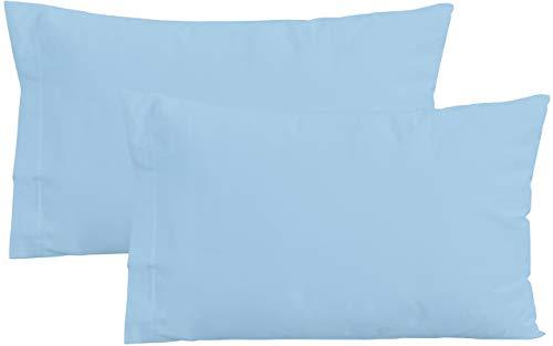 IRIDE by PERLARARA - Juego de 2 Fundas de Almohada para Cuna, 100% algodón Puro, 40 x 60 cm, Lavable...