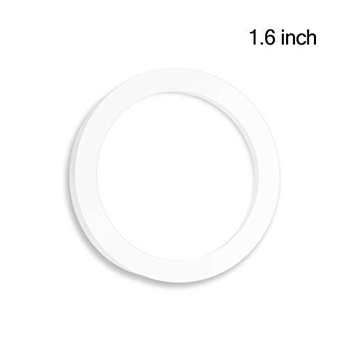 GOSOIT Silikon Ersatzdichtungen Dichtungen Ring Set passt für Universal Arts Schmaler Mund Flaschen (Seal Ring)