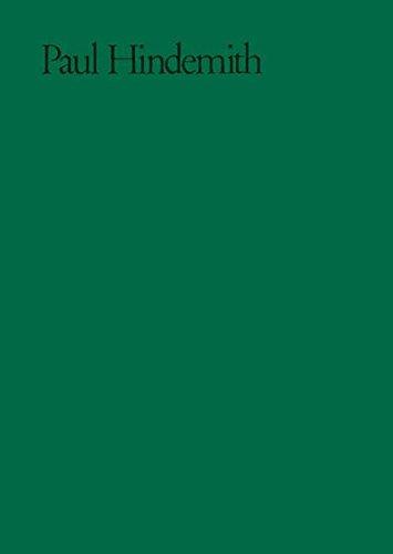 Solokonzerte: op. 3. Partitur und Kritischer Bericht. (Paul Hindemith - Sämtliche Werke)