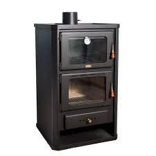 Stufa a legna da cucina con forno, bruciatore a legna prity fg 14 kw.
