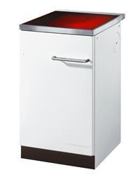 Küchenherd Kohleherd Haas+Sohn HSZ 50.5-C Ceranfeld weiß