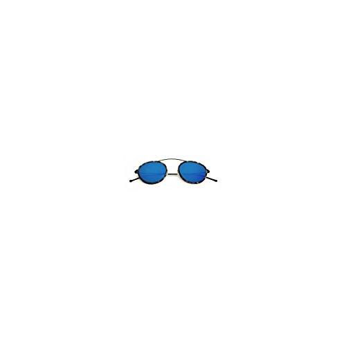 Spektre occhiali da sole | metro 2 - nero/havana/blu specchio | mr02b