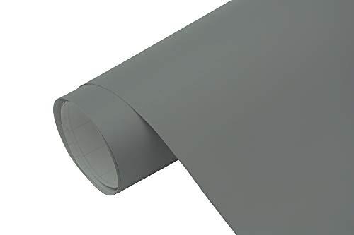 Neoxxim 4,60€/m2 Premium Auto Folie - Grau Anthrazit MATT 200 x 150 cm - blasenfrei mit Luftkanälen ca. 0,15mm dick Folierung folieren bekleben