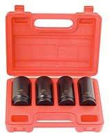 SUNEX TOOLS 2838 4Pc .5Dr Mm Spindle Nut Set
