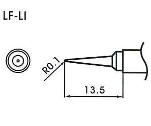 AOYUE WQ/LF-LI Pointe à souder conique R0.1mm Fer à Souder Station de Soudage