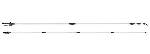 Ribiland 07376 Lance Télescopique avec Buse Double Aluminium Argenté 4 m