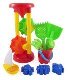 Double Sand Wheel Beach Toy Set for Kids...