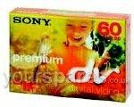 Sony , 5 Stück 60MIN DVM Kassetten Camcorder camcorderMiniDV premium tape (5 Stück) Klebeband - Retail Zubehör
