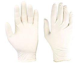 Click-Boîte de 100 gants en Latex jetables Blanc Taille XL