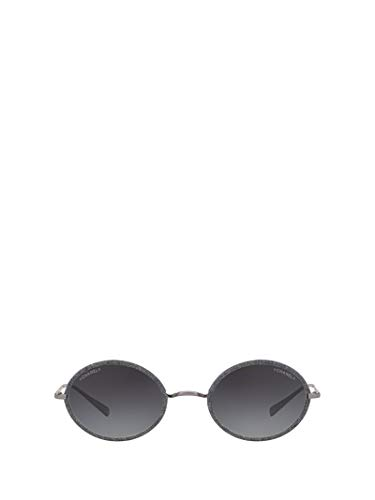 Chanel Luxury Fashion Damen CH4248JC108S6 Grau Sonnenbrille | Frühling Sommer 19 -