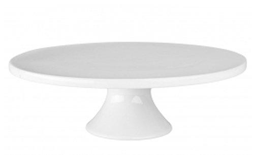 BIA Cordon Bleu Petit Rond Porcelaine support à gteaux 8–1/5,1 cm par 3–3/10,2 cm, Blanc