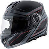 TORC Unisex-Adult T27 Full Face Modular Motorcycle Helmet with Graphic and Flip-Down Sun-Shield