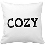 capital-cozy-on-white-throw-pillow-one-sides-zippered-pillowcase-pillow-cover-18x18-inches-throw-pil