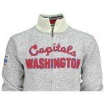 Reebok CCM NHL WASHINGTON CAPITALS Team Classic Sweater Knit Track Jacke (M) NEU/OVP