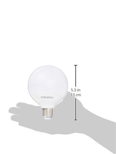 EMOS LED Glühlampe Classic Globe 11,5W E27 neutralweiß, Glas, 11.5 W, Transparent, 10 x 10 x 14 cm