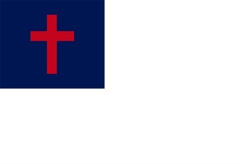 1,52 Meters 0,91 Meters-5 X 'X3'bandiera chiesa Gesù Religion cristiana