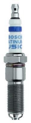 Bosch 4514 - Candela di accensione in platino Ir Iridium Fusion (set da 4)