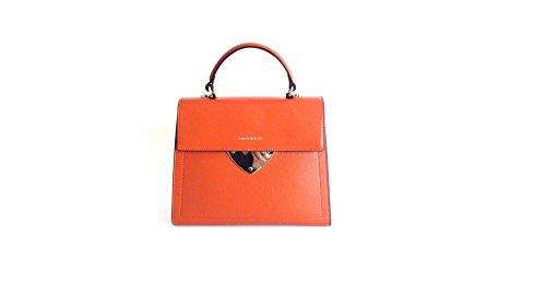 COCCINELLE B14 DOUBLE HANDLE BAG A05180301 orangebraun, braun