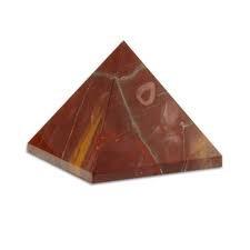 Honig Onyx Stein (Natur Mookait Edelstein 40–55mm Feng Shui Reiki Healing Kristall Energie Generator Spirituelle Pyramid (Mookait 40–55mm))