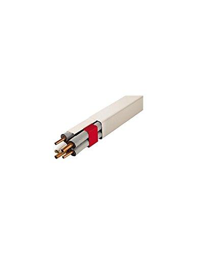 Artiplastic Srl - Goulotte 80x60mm longueur 2ml couleur ivoire 0812bc