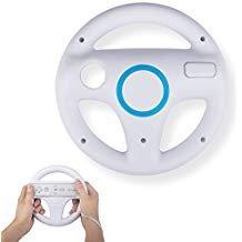 Mario Kart Lenkräder, techken Mario Kart Racing Wheel für Nintendo WII, Mario Kart, Tank, Mehr WII Oder WII U Racing Spiele Weiß
