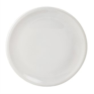 Royal Porcelaine Cg012 Coupé Assiettes, Royal en porcelaine, classique, 170 mm, blanc