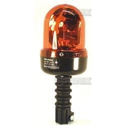 S.14423 Rundumleuchte 24 Volt H1 - mit Glühlampe - flexibler Fuss