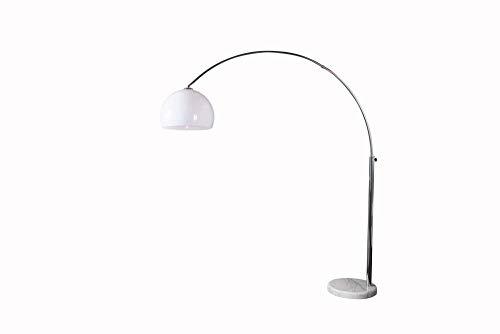 Design Bogenlampe mit Marmorfuß - 9