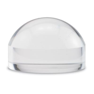 crystal-clear-paperweight-4x-light-gathering-dome-magnifier-with-polishing-pouch-25-by-magnipros