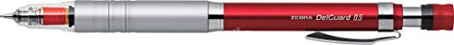 Portamine Zebra Delguard tipo LX 0.5mm, red Body (p-ma86-r)