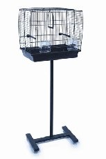 Universal Bird Cage Stand Black from Unbranded