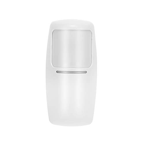 comprar OWSOO 433Mhz Sensor de Movimiento PIR Inalámbrico Detector de Infrarrojos Dual para Sistema de Alarma de Seguridad en Hogar