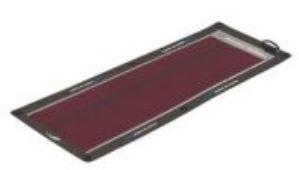 Características: 14 vatios 12 voltios 900mA Dimensiones: 13.75x 21.5? menos de 1,2 mm de espesor 31,75 oz Totalmente impermeables AMP 1.5 Montaje del conector serie a superficies curvas o planas en la cubierta de la película Impacto delgada resiste d...