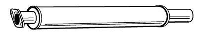 Preisvergleich Produktbild Walker 22853 Mittelschalldämpfer