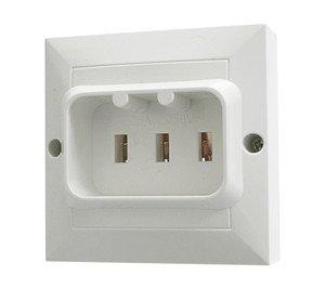 Base de empotrar para hornos y vitrocerámicas 25A/250VAC