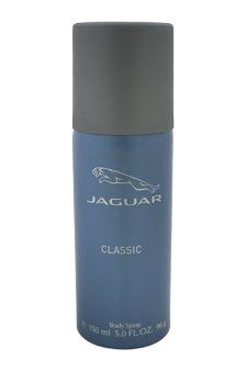 Jaguar classic blue body spray, 150ml