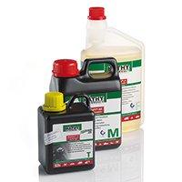 MATHY Reiniger für den Motor und das Getriebe Diesel und Benzin Komplett Set F Additive
