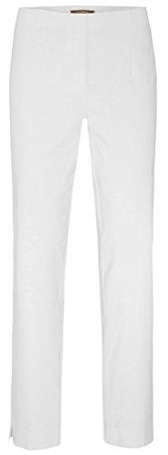 Stehmann - INA - 740 - Stretchhose in aktuellen Farben Größe 38, Farbe weiß (Hose Schlitz Gerade)