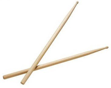 2B-Drumsticks-Wood-Tip