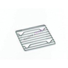 kela 17626 Dessous-de-Plat Mira 18,5x18,5cm en métal chromé, Argent, 5 x 18,5 x 2 cm