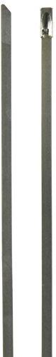 Sourcingmap a13101800ux0040 fascetta stringicavo, tono argento, set di 10 pezzi